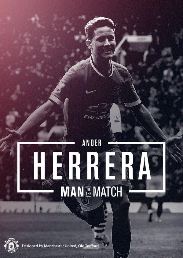 Ander Herrera - Man of the Match vs. Aston Villa.