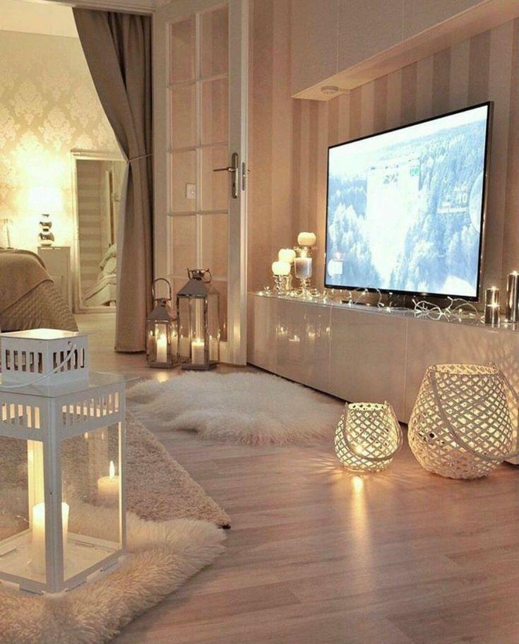 Gemutliche Wohnzimmer Ideen Fur Warmes Weihnachten Zu Hause