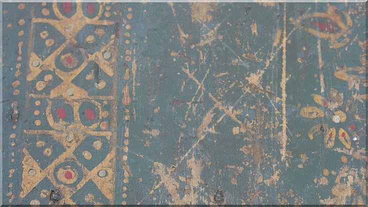 Antik festett fadeszkák