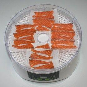 簡単おつまみ☆超絶品☆食品乾燥機で鮭とば