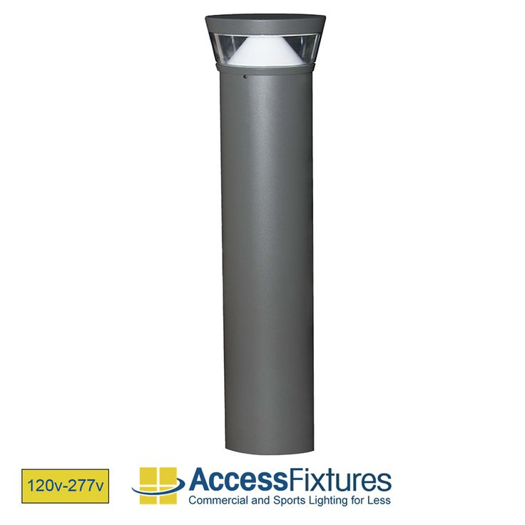 OPPE 26w Round Flat Top LED Bollard Light with Reflector – Dimmable LED Bollard Light – IP67, CSA Rated, Aluminum Housing available at Access Fixtures, from $314.52.  The OPPE 26w Round Flat Top LED Bollard Light with Reflector features four 5w chip-on-board LEDs that emit over 2,000 lumens. It is rated for 50,000 hours and comes with a terrific color rendering index of 80+. Sleek design and sturdy, extruded aluminum housing. In stock and ready to ship.
