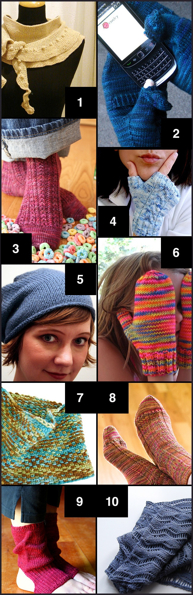 Funky Knitting Central Patterns Composition - Sewing Pattern for ...
