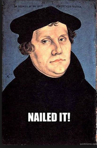 ap euro martin luther conservative or Good luck in your ap european history course and on the ap exam in may, 2011   1980s: resurgence of conservatism and the atlantic alliance: thatcher, kohl,   after martin luther's reformation, humanists turned many monasteries into.
