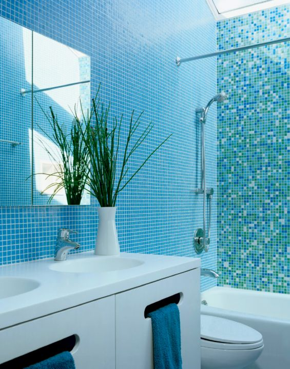 blue bathroom tiles design 33 best images about white and turquoise bathrooms on 17453