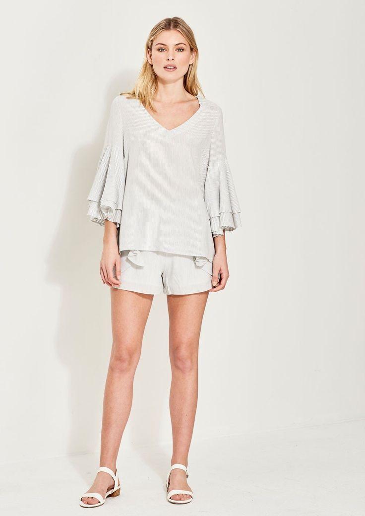 Imonni - Charlotte Stripe Cotton Top