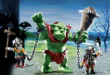 Kæmpetrold med dværgkrigere - Playmobil Knights 6004 Shop - Eurotoys - Legetøj online