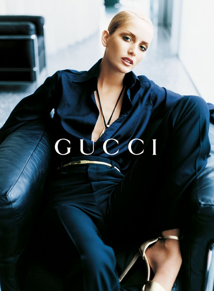 Georgina Greenville by Mario Testino for Gucci F/W 1996