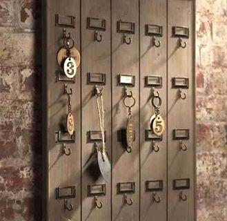 """Ordning på nycklarna """"Vintage style"""""""