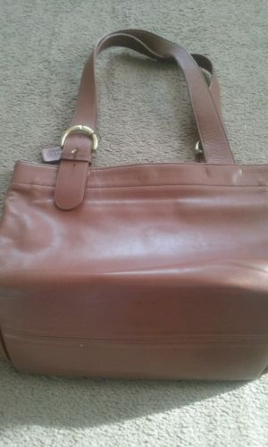 Bought circ. 1996 style 4140 25.00 Vintage-coach-leather-bag