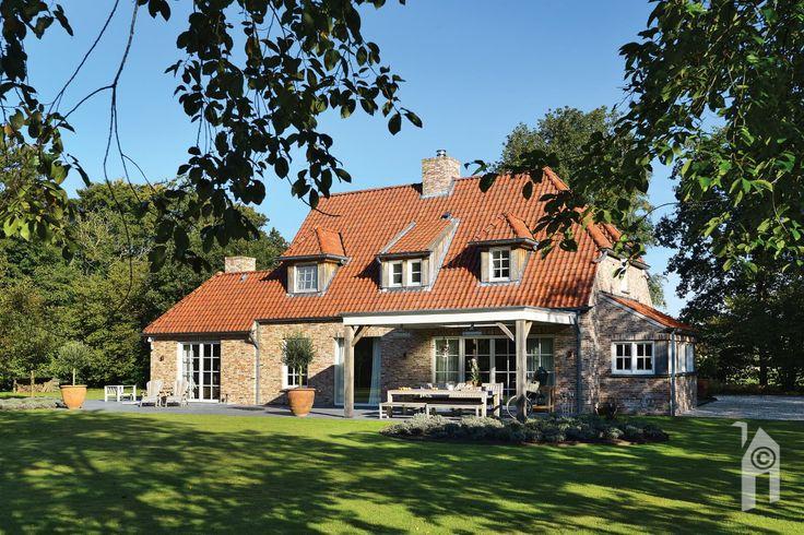 Landelijke én romantische huis in Kempische stijl.