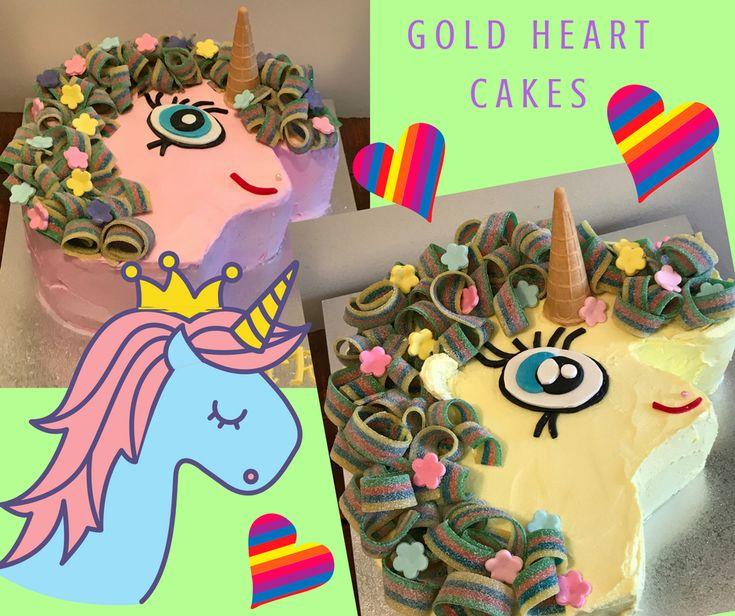Unicorn Cakes  http://goldheartcakes.website/fun-kids/2018/2/5/unicorn-cakes