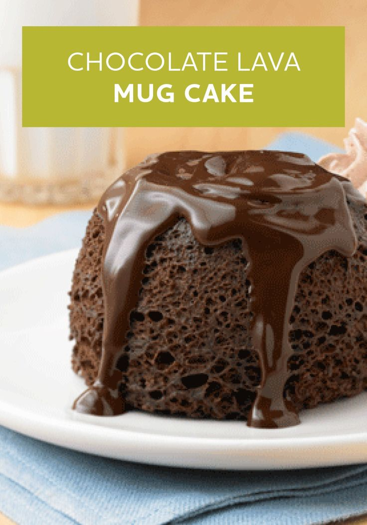 how to make chocolate lava mug cake
