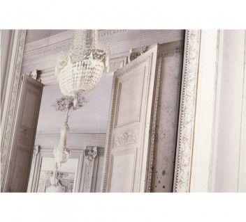 Chemin e miroir wall decor french trompe l 39 oeil by koziel get the look downton abbey - Miroir trompe l oeil ...