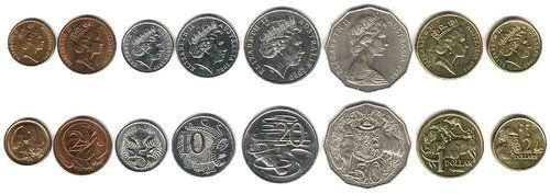 Australian Money - Australia Coins in Circulation