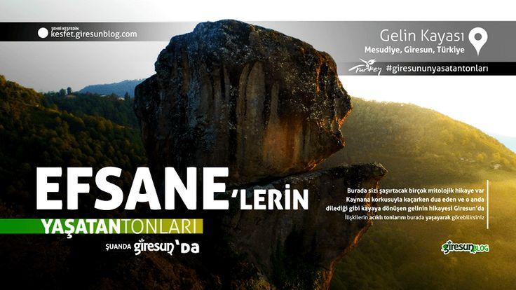 Gelin Kayası http://kesfet.giresunblog.com/gelin-kayasi/