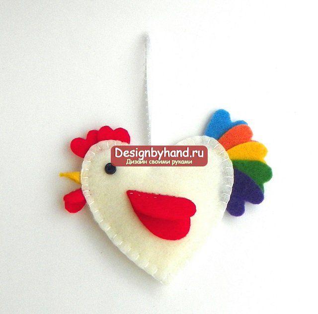 Год Петуха: интерьерные игрушки своими руками
