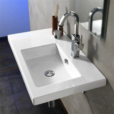 Nameeks Art CO0 Ceramica Tecla Condal Washbasin Wall Mount Bathroom Sink - Fixture Universe