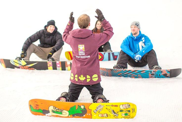 50-Min Ski or Snowboard Taster @ Chill Factore