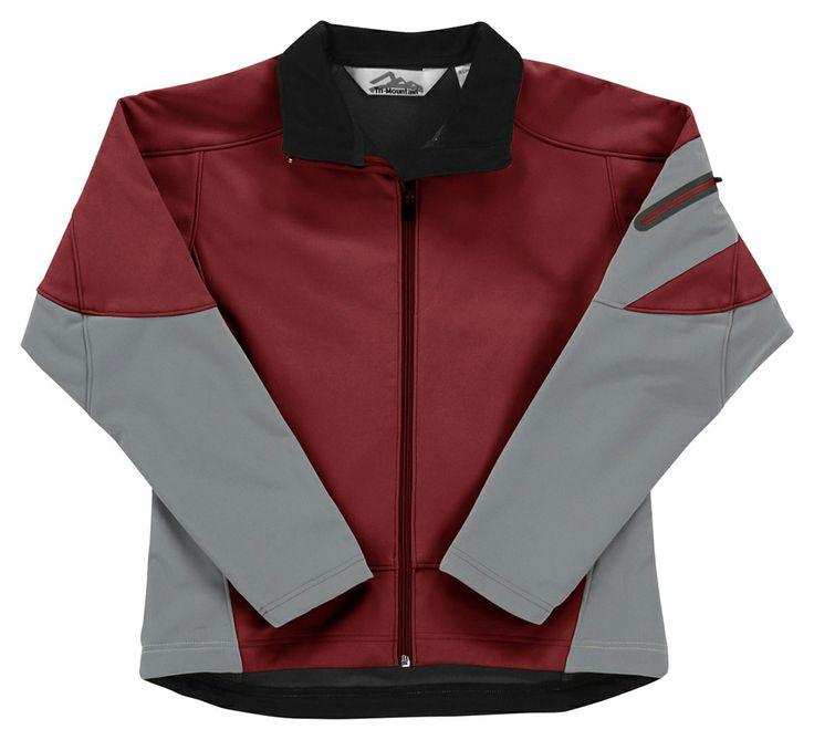Women 3-Layer Soft Shell Jacket Windproof/Water-Resistant 6425 Fidelity #3Layered #Waterproof #Windproof #Womenswear #Women