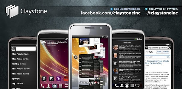 Claystone Launcher: nuevo launcher para Android al estilo SPB Shell #launcher #android