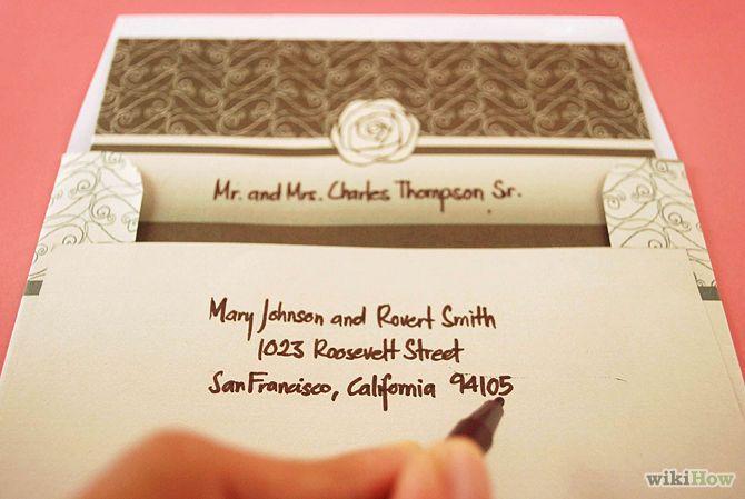Addressing A Wedding Invitation: Best 25+ Addressing Wedding Invitations Ideas On Pinterest