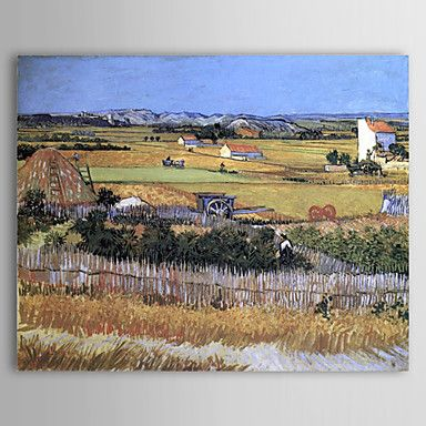 Famous Oil Painting The Harvest by Van Gogh – AUD $ 97.59