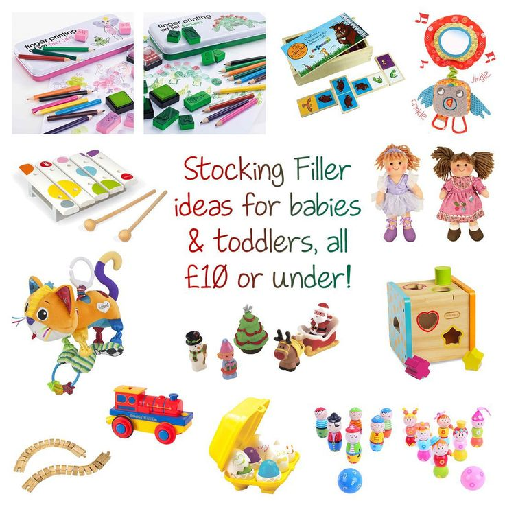 """While I was on the hunt for the perfect stocking presents for the girls (see what I got Georgie & Lydia) I came across so many lovely ideas, that I thought I would share some of them with you. Here are a dozen stocking fillers that are £10 or under, suitable for babies & toddlers aged between 0 & 3 years. Finger Printing Art Set… Continue Reading """"Stocking filler ideas for babies & toddlers, £10 or under"""""""