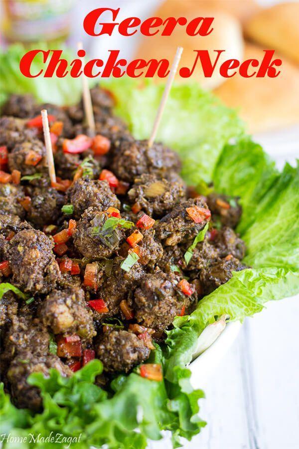 geera chicken neck レシピ i 3 cocina pinterest