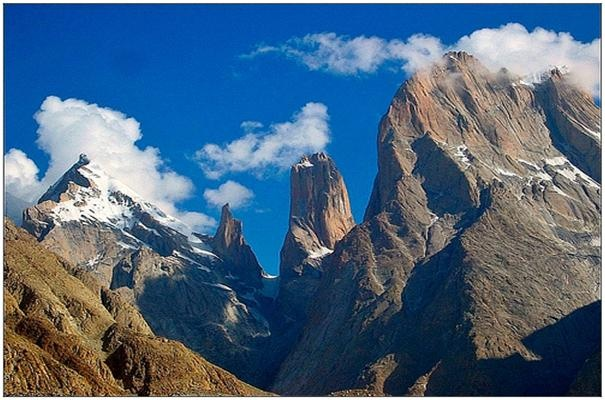 Trango Towers, Pakistan - at the head of the Baltoro Glacier. Been to Pakistan twice, still haven't made it here.