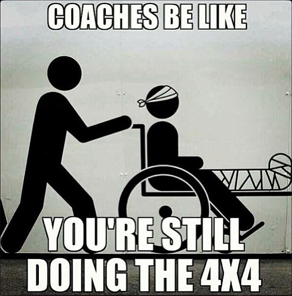 for real though... track problems!