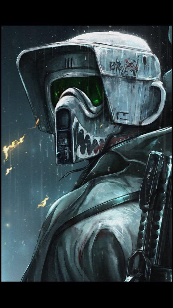 Star Wars Scout Trooper Wallpaper