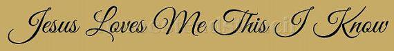 PRIMITIVE STENCIL Item 5871 D Jesus Loves by HOMESTEADSTENCILCOMP