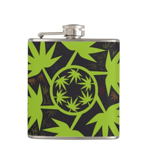 Hoja colores arcoiris vectorial de planta. Plant. Cannabis. Producto disponible en tienda Zazzle. Product available in Zazzle store. Regalos, Gifts. Link to product: http://www.zazzle.com/hoja_colores_arcoiris_vectorial_de_planta_plant_hip_flask-256985972702151408?CMPN=shareicon&lang=en&social=true&rf=238167879144476949 #bottle #botella #petaca #marihuana #cannabis