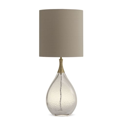 Porta Romana - GLB63, Droplet Lamp - Clear with Gold
