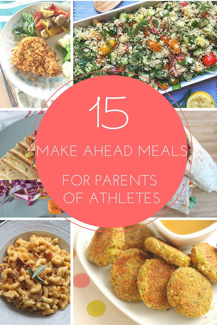 Don't be one of those parents who is so concerned about their child that they forget to feed themselves! Make these quick & #healthy meals ahead of time for dinner any night!