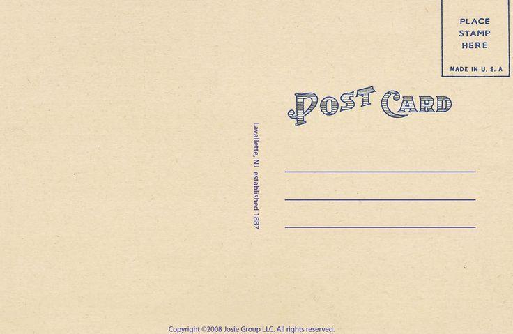 postcard back - Google Search | Wedding thangs | Pinterest | The o ...