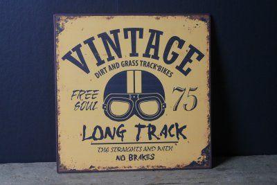 Vintage sign!