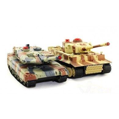 Witajcie w poniedziałek,   Dziś prezentujemy zestaw dwóch czołgów o sporych możliwościach bojowych. Zabawki nie tylko dla dzieci ale również i dla starszych.   Czołg Abrams M1A2 - replika modelu amerykańskiego i niemiecki Tiger I.   Chcesz wiedzieć więcej? Zobacz opis, dane techniczne, komentarze oraz film Video. Nie ma jeszcze komentarzy, to czemu nie zostawisz swojego:)  #modelerc #skleprc #czolgirc #czolgrc #zdalniesterowane #abramsn1a1 #tigerIrc #prezenty #zabawki