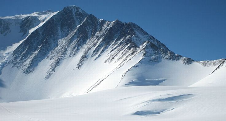 Vinson Massif ( 4897 metres, 16066 feet ) - the highest mountain on the continent of Antarctica