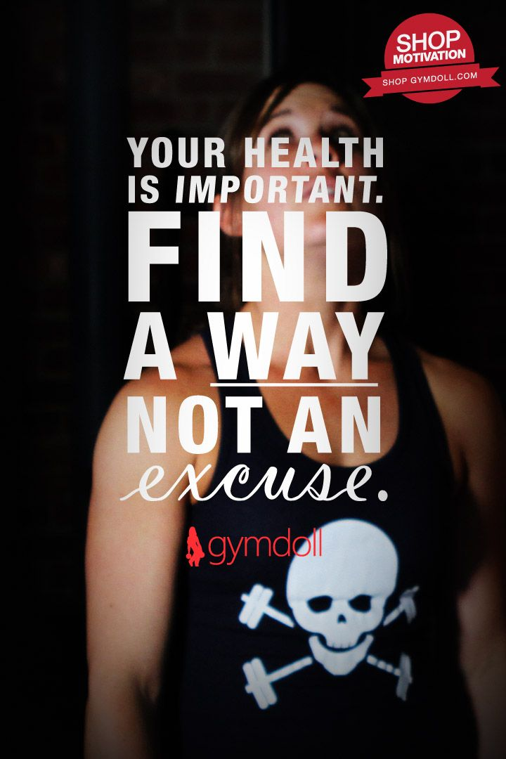 A  Gymdoll  Public  Motivational  Statement  (PMS) #Fitness your health is important