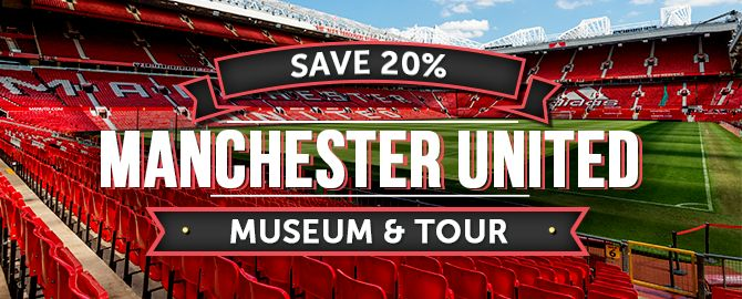 Manchester United Museum & Tour - 20% Off Entry Coupon