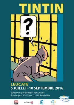 Exposition TINTIN à LEUCATE - PORT LEUCATE - Détail