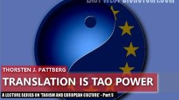 European reception of Taoism - Translation is Tao Power