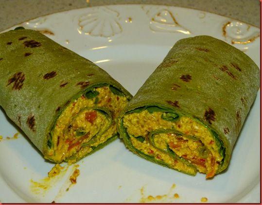 raw wrap vegan breakfast egg burrito deceiving juice bar mexican scramble foods walnuts looks himalayan salt sea pink peppers tomatoes