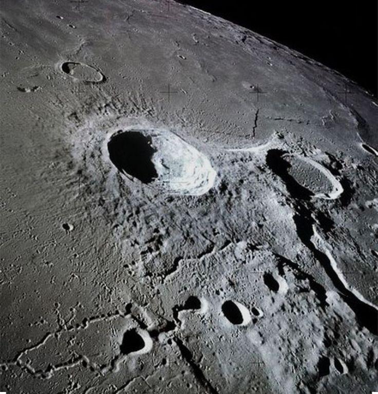 Фото луны с телескопа хаббл