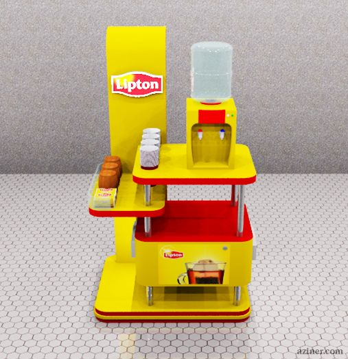 Lipton Office Kiosk on Behance