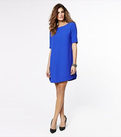 This gorgeous blue monaco tunic dress will be your next wardrobe staple!