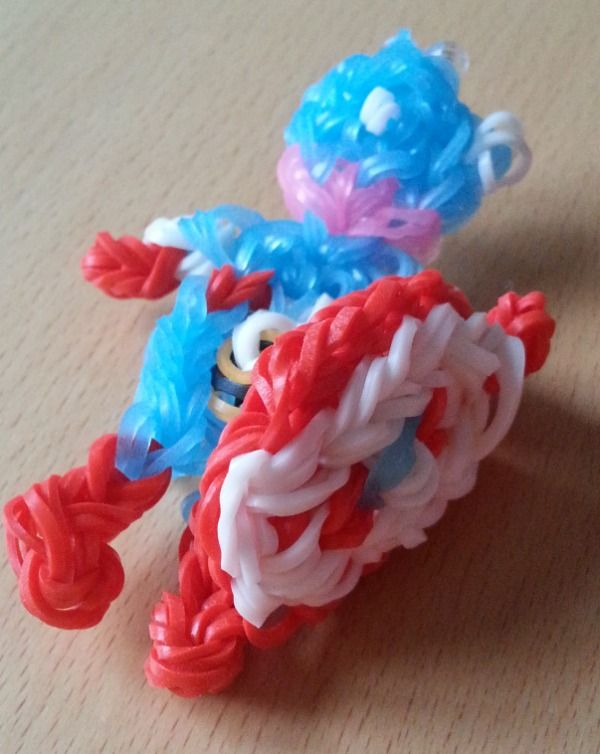 Captan America Loom Band Charm