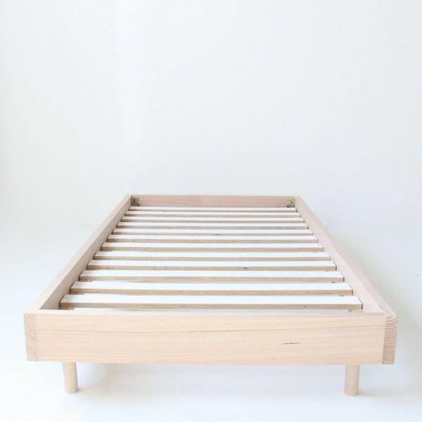 Bed Base by MuBu. We love simplicity and beds that allow your linen to shine. Our bed base is constructed using solid Mountain Ash, Vic Ash or American White Oak timber. Single, K Single, Double, Queen & King size available