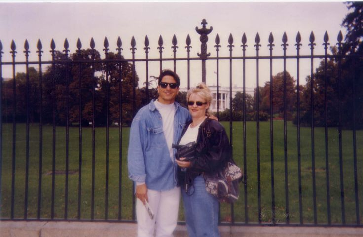 Outside the Whitehouse